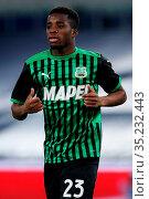 Hamed Junior Traore (Sassuolo) during the match ,Rome, ITALY-24-01... Редакционное фото, фотограф Federico Proietti / Sync / AGF/Federico Proietti / / age Fotostock / Фотобанк Лори