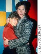 Jodie Foster Rob Lowe, 1985, Photo by Adam Scull-PHOTOlink.net. (2008 год). Редакционное фото, фотограф Adam Scull / age Fotostock / Фотобанк Лори