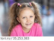 Girl six years old. Стоковое фото, фотограф Типляшина Евгения / Фотобанк Лори