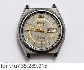 Старые наручные часы Seiko. Редакционное фото, фотограф Игорь Низов / Фотобанк Лори