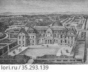 Chateau de vaux 1500-1600, histoire populaire de France par henri... Редакционное фото, фотограф Louis Bertrand / age Fotostock / Фотобанк Лори