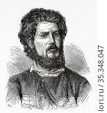 Portrait of Alexandre Alberto da Rocha de Serpa Pinto (1846-1900) ... Редакционное фото, фотограф Jerónimo Alba / age Fotostock / Фотобанк Лори