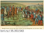 Europa, Deutschland, Frankreich , Deutsch-Französischer Krieg , 1870... Редакционное фото, фотограф Historisches Auge Ralf Feltz / age Fotostock / Фотобанк Лори