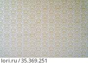 Alte Retro Tapete mit floralem Muster im Vintage Stil als Hintergrund... Стоковое фото, фотограф Zoonar.com/Robert Kneschke / age Fotostock / Фотобанк Лори