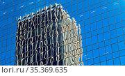 In sydney australia the reflex of the skyscraper in the window like... Стоковое фото, фотограф Zoonar.com/LKPRO / easy Fotostock / Фотобанк Лори