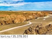 Aerial view of unique arid rocky landscape environment located in... Стоковое фото, фотограф Zoonar.com/Daniel Ferreira-Leites Ciccarino / easy Fotostock / Фотобанк Лори
