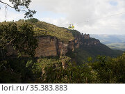 Scenic Skyway Glass Bottom Cable Car, Blue Mountains, Australia. ... Стоковое фото, фотограф Matthew Williams-Ellis / age Fotostock / Фотобанк Лори