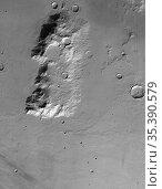 MARS Hesperia Planum -- 13 Jun 2004 --The HRSC on ESA's Mars Express... Редакционное фото, фотограф Jonathan William Mitchell / age Fotostock / Фотобанк Лори