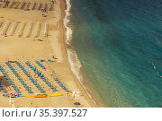 Beach in Ruffo di Scilla in Calabria region, Italy. Стоковое фото, фотограф Richard Semik / easy Fotostock / Фотобанк Лори