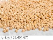 Heap of chickpea. Стоковое фото, фотограф Яков Филимонов / Фотобанк Лори