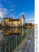 Blatna castle near Strakonice, Southern Bohemia, Czech Republic. Стоковое фото, фотограф Richard Semik / easy Fotostock / Фотобанк Лори