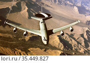 AFGHANISTAN -- 20 Nov 2002 -- A coalition E-3 Sentry aircraft conducts... Редакционное фото, фотограф Jonathan William Mitchell / age Fotostock / Фотобанк Лори
