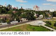 Central district of the Voronezh in Russia. Редакционное видео, видеограф Володина Ольга / Фотобанк Лори