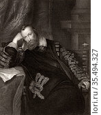 Henry Percy, 9th Earl of Northumberland (1564-1632) English nobleman... Редакционное фото, агентство World History Archive / Фотобанк Лори
