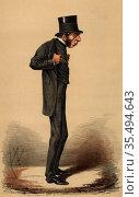 George Joachim Goschen (1831-1907), lst Viscount Goschen, English... Редакционное фото, агентство World History Archive / Фотобанк Лори