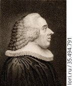 Christopher Christian Sturm (1740-1786) German moralist and preacher... Редакционное фото, агентство World History Archive / Фотобанк Лори