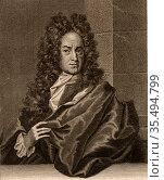 Georg Ernst Stahl (1660-1734) German chemist and medical theorist... Редакционное фото, агентство World History Archive / Фотобанк Лори