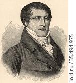 Manuel Jose del Corazon de Jesus Belgrano (1770-1820) Argentine lawyer... Редакционное фото, агентство World History Archive / Фотобанк Лори