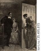 Richard Baxter (1615-1691) English Non-conformist clergyman. Margaret Charlton, Baxter to marry her. Редакционное фото, агентство World History Archive / Фотобанк Лори