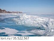 Природа и красоты озера Байкал. Стоковое фото, фотограф Вячеслав Воробьёв / Фотобанк Лори