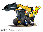 Vector Cartoon Skid Sreer. Стоковая иллюстрация, иллюстратор Александр Володин / Фотобанк Лори