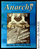 1990 issue of Anarchy: A Journal of Desire Armed, Published by CAL... (2020 год). Редакционное фото, агентство World History Archive / Фотобанк Лори