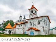 Alexander-Svirsky Monastery is orthodox monastery in the Leningrad... Стоковое фото, фотограф Zoonar.com/Boris Breytman / easy Fotostock / Фотобанк Лори