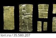 Oxus Treasure: Gold Achaemenid Persian metalwork 5th-4th centuries... Редакционное фото, агентство World History Archive / Фотобанк Лори