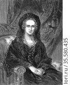 Adelaide of Saxe-Coburg Meiningen (1792-1849) German-born Queen-consort... Редакционное фото, агентство World History Archive / Фотобанк Лори