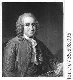 Linnaeus (Carl von Linne - 1707-1778) Swedish naturalist. From 'The... Редакционное фото, агентство World History Archive / Фотобанк Лори