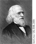 Isaac Lea (1792-1886) American publisher, geologist and conchologist... Редакционное фото, агентство World History Archive / Фотобанк Лори