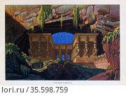 Mozart (Die Zauberflote - The Magic Flute) Temple of Isis and Osiris... Редакционное фото, агентство World History Archive / Фотобанк Лори