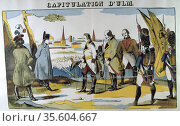 Napoleon I receiving the Capitulation of Ulm.  Battle of Ulm, 16-... Редакционное фото, агентство World History Archive / Фотобанк Лори