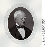 Robert Lowe, lst Viscount Sherbrooke (1811-1892) British statesman... Редакционное фото, агентство World History Archive / Фотобанк Лори
