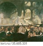 The Ballet Scene from Meyerbeer's Opera 'Roberto il Diavolo'', 1876... Редакционное фото, агентство World History Archive / Фотобанк Лори