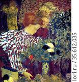 Edouard Vuillard (1868- 1940) French painter associated with the ... Редакционное фото, агентство World History Archive / Фотобанк Лори