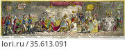 The Grand Coronation of Napleon Ist, Emperor of France, from the ... Редакционное фото, агентство World History Archive / Фотобанк Лори