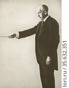 'RichardGeorge Strauss (1864-1949) German composer of late Romantic... Редакционное фото, агентство World History Archive / Фотобанк Лори