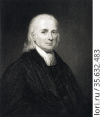 Christian Friedrich Schwartz or Schwarz (1727-1798) German Lutheran... Редакционное фото, агентство World History Archive / Фотобанк Лори