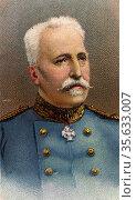 'Noel Marie Joseph Edouard de Castelnau (1851-1944) French soldier... Редакционное фото, агентство World History Archive / Фотобанк Лори