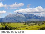 High Tatras with the dominant mountain Krivan, Slovakia. Стоковое фото, фотограф Richard Semik / easy Fotostock / Фотобанк Лори