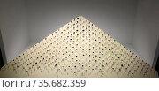 The Aurora Pyramid of Hope, a collection of diamonds. Редакционное фото, агентство World History Archive / Фотобанк Лори