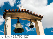 City Athens, Greece Republic. Bells in church (2019 год). Стоковое фото, фотограф Константин Лабунский / Фотобанк Лори
