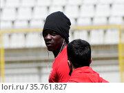 Serie B match between AC Monza and US Lecce at Stadio Brianteo. Редакционное фото, фотограф Mairo Cinquetti / WENN / age Fotostock / Фотобанк Лори
