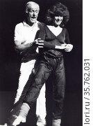 Stefanie Powers with Dick Van Dyke 1990s.Photo by Adam Scull/PHOTOlink... (2008 год). Редакционное фото, фотограф Photo By Adam Scull/PHOTOlink.net / age Fotostock / Фотобанк Лори
