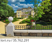 The palace of the Dukes of Pastrana, the last original witness of... Стоковое фото, фотограф Ruddy Gold / age Fotostock / Фотобанк Лори
