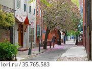 11th St  Philadelphia, Pennsylvania. USA. Spring landscape. Редакционное фото, фотограф Валерия Попова / Фотобанк Лори