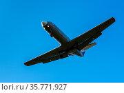 Russian regional jet Yakovlev Yak-40K: three-engined jet airliner... Стоковое фото, фотограф Zoonar.com/Alexander A. Piragis / age Fotostock / Фотобанк Лори