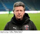 Cheftrainer Jeff Saibene FC Ingolstadt 04 DFB 3.Liga Saison 2019-... Стоковое фото, фотограф Zoonar.com/Axel Kammerer / age Fotostock / Фотобанк Лори