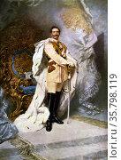 Wilhelm II by Ferdinand Keller (1842-1922). Wilhelm II was the last... Редакционное фото, агентство World History Archive / Фотобанк Лори
